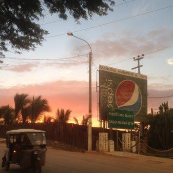 Notre arrivée et notre vie à Mancora