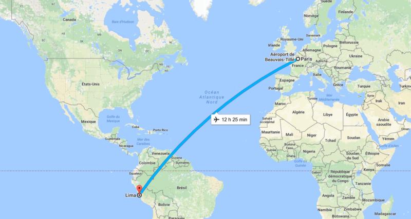 Départ pour notre stage au Pérou