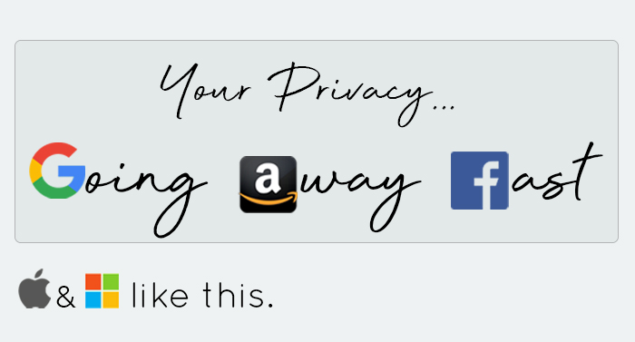 gafam vie privée webandsun